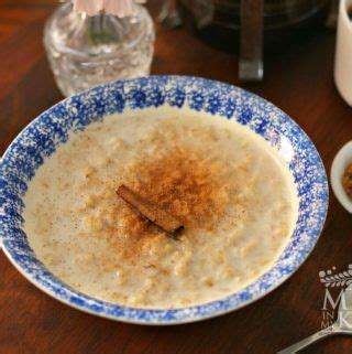 Oatmeal Recipe | Old Fashioned Creamy Avena | Mexican Food ...