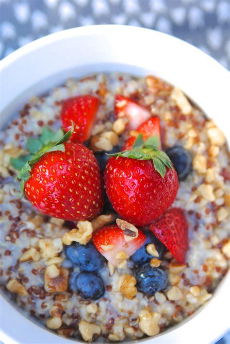 Oatmeal with Quinoa Breakfast Recipe {Gluten Free ...