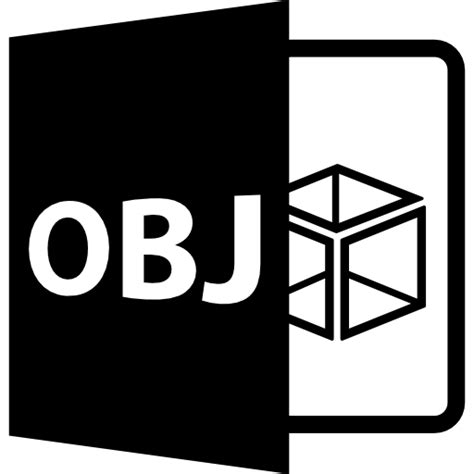 Obj formato de archivo abierto | Icono Gratis