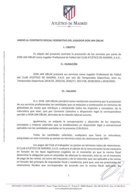 oblak contrato football leaks   SPORTYOU 20minutos