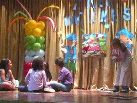 Obra de Teatro   Por Amor a mi Familia  en el Colegio ...
