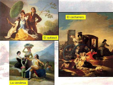Obras de Francisco de Goya. | Historia 4º de ESO