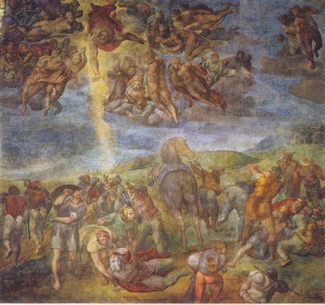 Obras de Miguel Ángel Buonarroti en Roma y Florencia