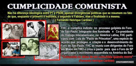 OCC   ALERTA BRASIL: O FORO DE SÃO PAULO E O DIÁLOGO ...