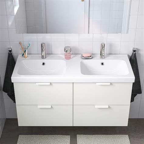 ODENSVIK Lavabo doble, 123x49x6 cm   IKEA
