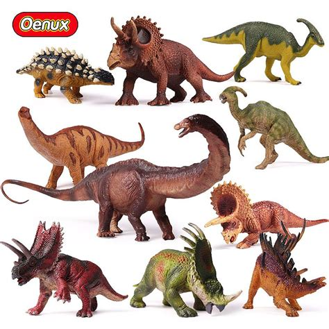 Oenux Original Prehistoric Jurassic Herbivorous Dinosaurs ...
