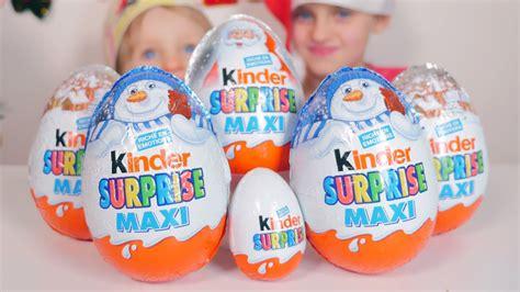 [OEUF] 5 Kinder Surprise Maxi pour Noël et un Kinder ...
