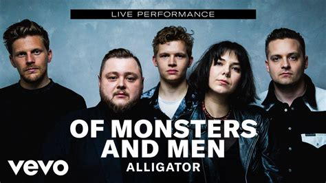 Of Monsters and Men    Alligator  Live Performance | Vevo ...