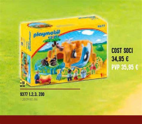 Oferta 9377 1.23. Zoo Playmobil en Abacus