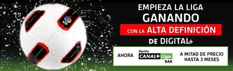 Oferta Bar+ de Digital Plus | Fútbol en Televisión