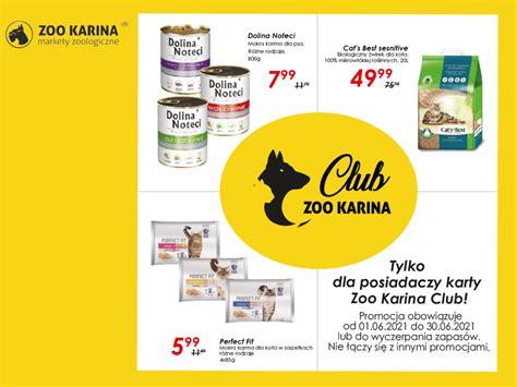 Oferta Clubowa w ZOO Karina   markety zoologiczne w ...