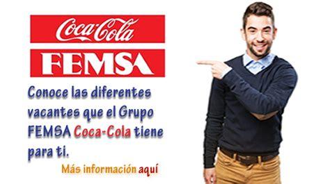 Oferta de empleo: Ofertas de Empleo en COCA COLA FEMSA ...