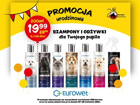 Oferta Jubileuszowa od ZOO Karina   markety zoologiczne ...