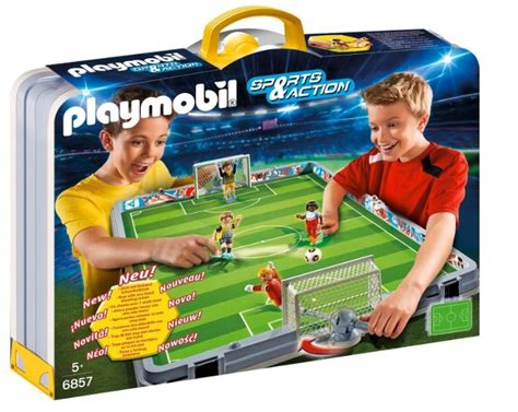 ¡Oferta! Playmobil – Set de fútbol por menos de 50 euros ...