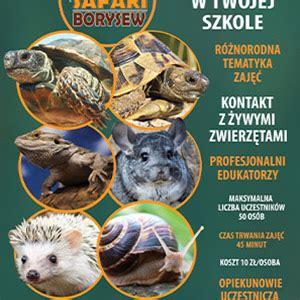 Oferta wyjazdowa – ZOO Safari w Borysewie
