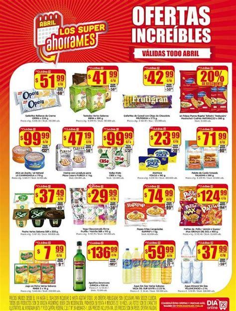 Ofertas AhorraMes Supermercados DIA abril 2019
