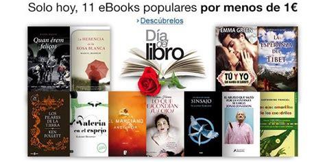 Ofertas Día del libro 2015 en Amazon España