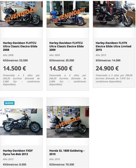 Ofertas motos Harley Davidson Bilbao, Ofertas motos Harley ...