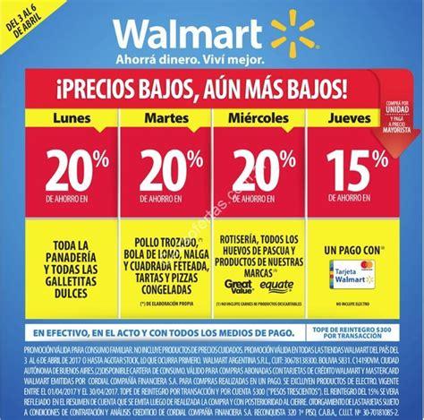 Ofertas Walmart de la semana del lunes 3 al jueves 6 de ...