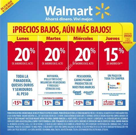 Ofertas Walmart y ChangoMas semana del lunes 31 de julio ...