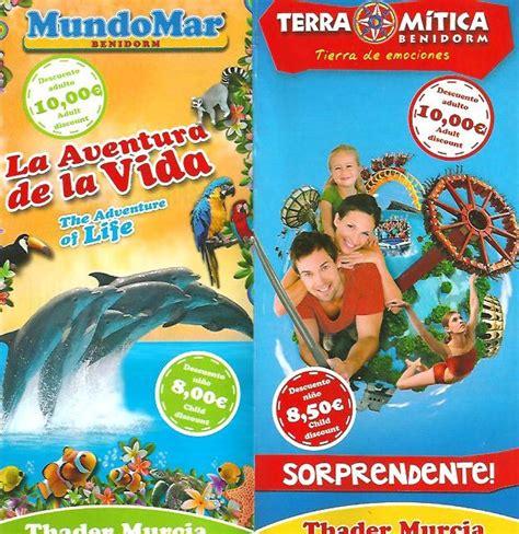 Ofertas y promociones temporada alta 2012   Publi Parques