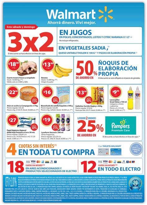 Ofertas y Promos en Argentina: Ofertas Walmart fin de semana