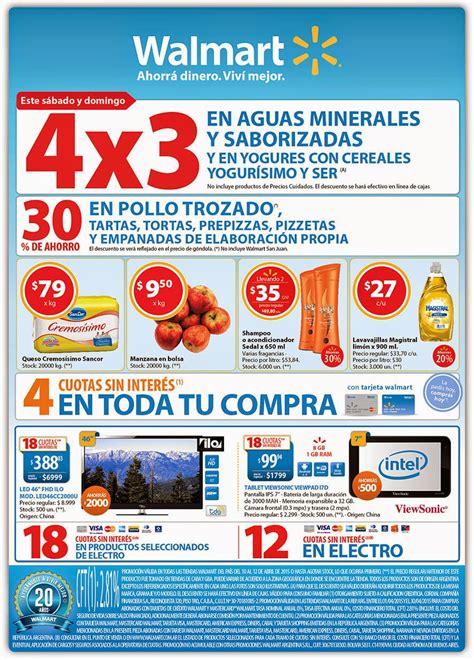 Ofertas y Promos en Argentina: Promos Walmart fin de semana