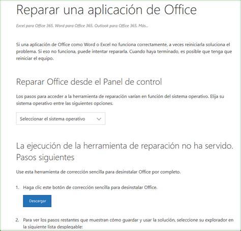 Office 2016 / Error al instalar cualquier paquete de ...