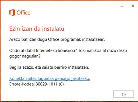 Office 2016 ≡ Problemas a la hora de instalar el paquete ...