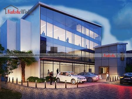 Office Building Design |100*100 Corporate Office Building ...
