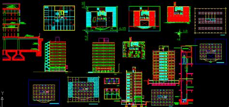 Office buildings in AutoCAD | CAD download  2.45 MB ...