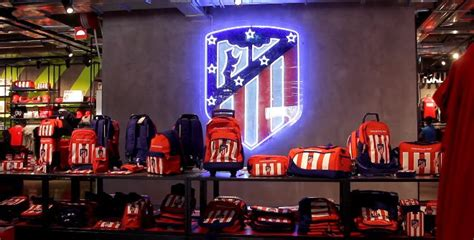 Official football team stores in Madrid