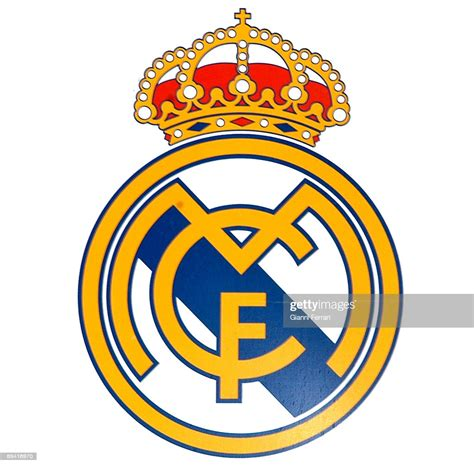 Official logo of the spanish football team, Real Madrid ...