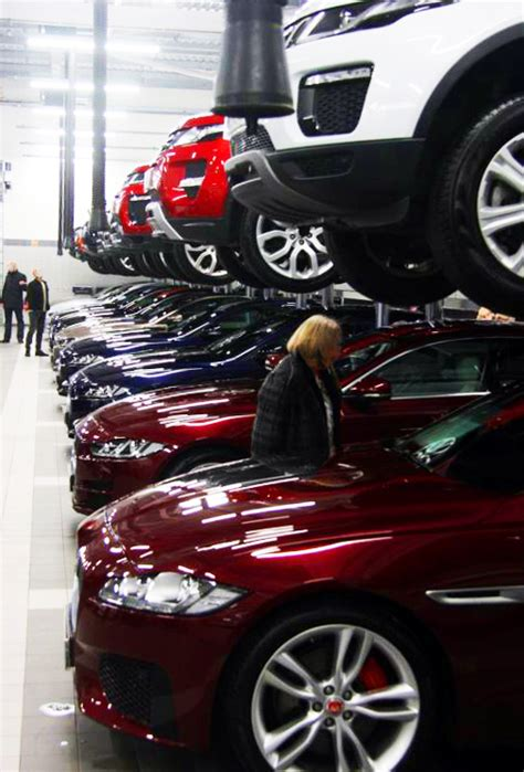 Official opening for Harwoods Jaguar Land Rover Crawley ...