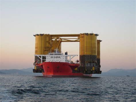 Offshore Platform  Olympus  Hull Texas Bound