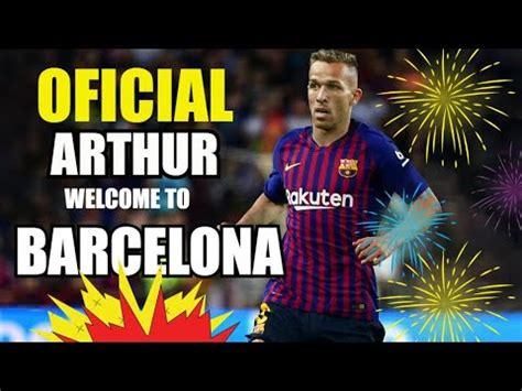 ¡OFICIAL! ARTHUR MELO EN BARCELONA | FC BARCELONA NOTICIAS ...