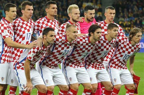 Oficial: Croacia presenta la lista de jugadores que ...