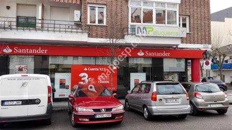 Oficina Banco Santander   El Escorial