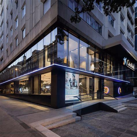 Oficina La Caixa en Madrid