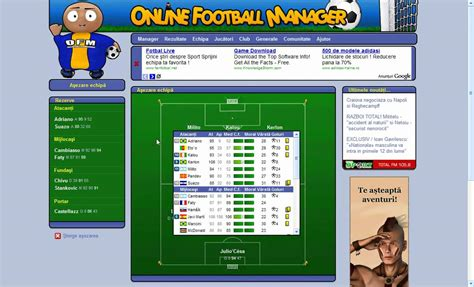 OFM Online Football Manager  Tactics Internationale   YouTube