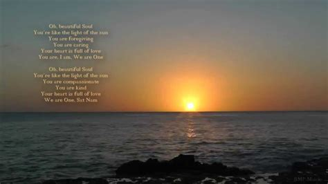Oh, beautiful Soul   Mantra   Kundalini Yoga   Sunset ...