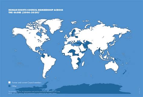 OHCHR | HRC Membership of the Human Rights Council