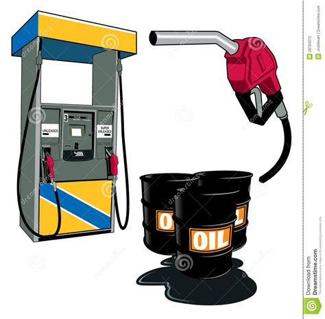 Oil and petrol stock vector. Illustration of closeup ...