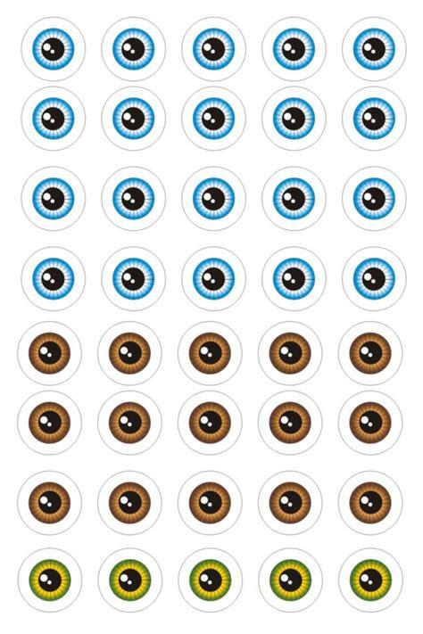 Ojos para los muñecos   Patrones gratis