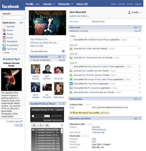 Old Facebook Profiles   Business Insider