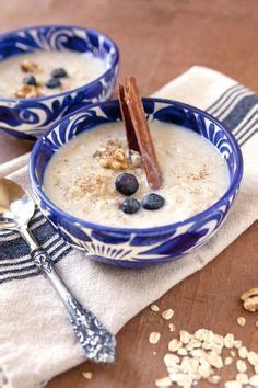 Old fashioned Mexican oatmeal  Avena   With images ...