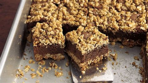 Old Fashioned Oatmeal Brownies recipe from Betty Crocker