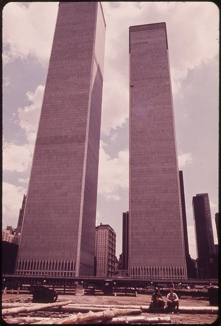 Old Pictures of World Trade Center, 1973 ~ vintage everyday