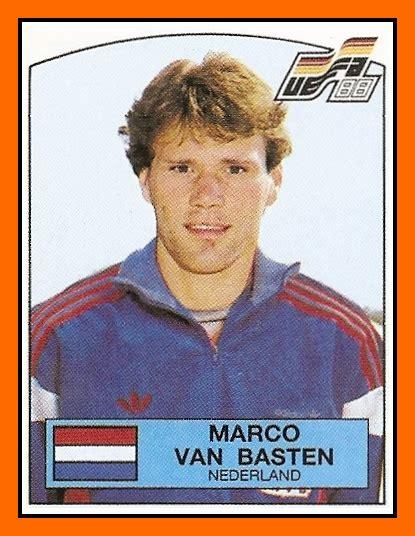Old School Panini: L incroyable Euro 88 de Marco VAN BASTEN
