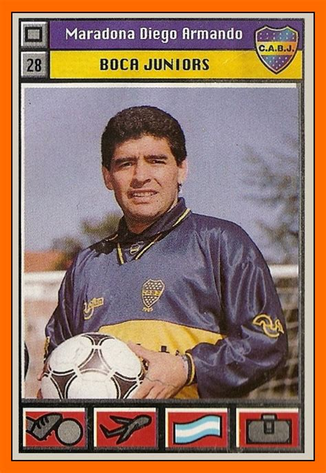 Old School Panini: Le retour de Diego Maradona à Boca Juniors